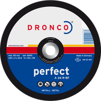Dronco Perfect Flat Metal Cutting Discs