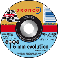 Dronco Evolution Flat Cutting Discs