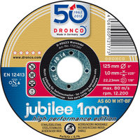 Dronco 1mm Jubilee Evolution Cutting Discs