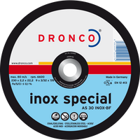 Dronco Inox Special Depressed Centre Cutting Discs
