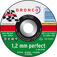 Dronco Perfect Depressed Centre Stone Cutting Discs