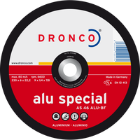 Dronco Aluminium Special Grinding Discs