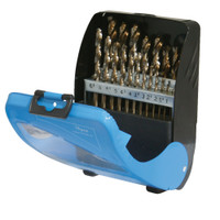 Silverline Metric Cobalt Drill Bit Set - 19 piece