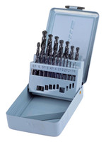 Castle Brooke Metric HSS Ground Flute Drill Set - 19 piece