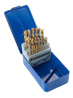 Castle Brooke Metric HSS Tin Coated Drill Set - 25 piece