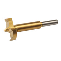 Silverline Titanium-Coated Forstner Drill Bit