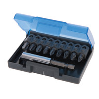 Silverline Cr-V Screwdriver Bit Set - 10 piece