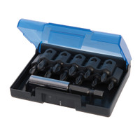 Silverline Anti-Slip Screwdriver Bit Set - 12 piece