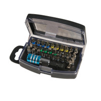 Silverline Colour-Coded Screwdriver Bit Set - 32 piece