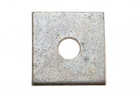 Square Plate Washers - Galvanised
