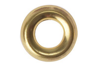 Screw Cup Washers - Brass Plated