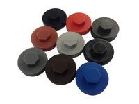 16mm Coloured Cover Caps (for Self-Drilling Screws)
