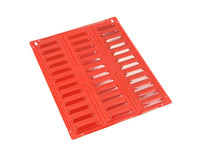 Red Ecobox Storage Bin Wall Panel