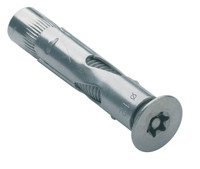 6-Lobe Torx Pin Csk Sleeve Anchor - Stainless Steel A2