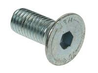 Socket Countersunk Screws - High Tensile Grade 10.9 - Bright Zinc Plated