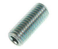 Plain Cup Point Socket Set Screws - Grade 14.9 - Bright Zinc Plated