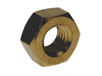 Hex Full Nuts - Brass