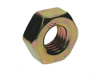 Hex Full Nuts - Zinc & Yellow Passivated