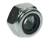 Nyloc Nuts Type 'P' - Bright Zinc Plated