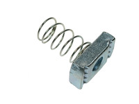 Channel Nuts (Long Spring) - Bright Zinc Plated