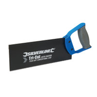 Silverline 250mm Tri-Cut Tenon Saw