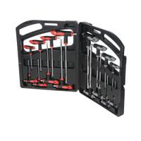 Silverline T-Handle Hex & Torx Wrench Set - 16 piece