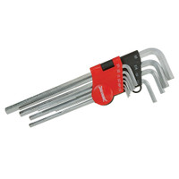 Silverline Expert Imperial Hex Key Set - 10 piece
