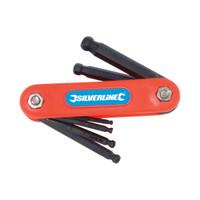Silverline Metric Ball End Hex Key Multi-Tool