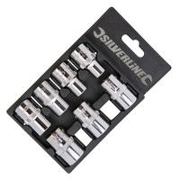 "Silverline 1/2"" Drive Imperial Socket Set - 7 piece"