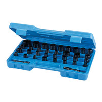Silverline Impact Socket Set - 35 piece