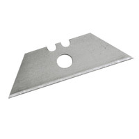 Silverline Centre Hole Utility Knife Blades - Pack of 10