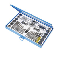 Silverline Expert Metric Tap & Die Set - 40 piece