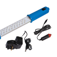 Silverline Rechargeable 30 LED Inspection Lamp