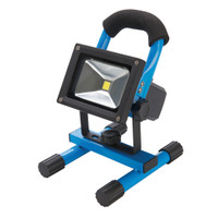 Silverline 10W Rechargeable LED Work Light with USB Charger