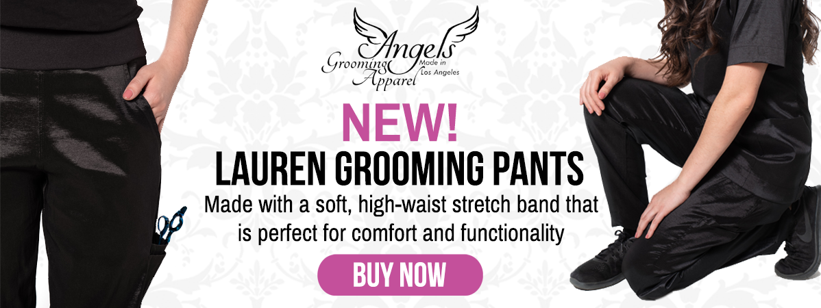New Angels Grooming Apparel Lauren Grooming Pants