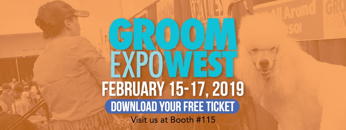 Groom Expo West; February 15-17, 2019. Get your free ticket!