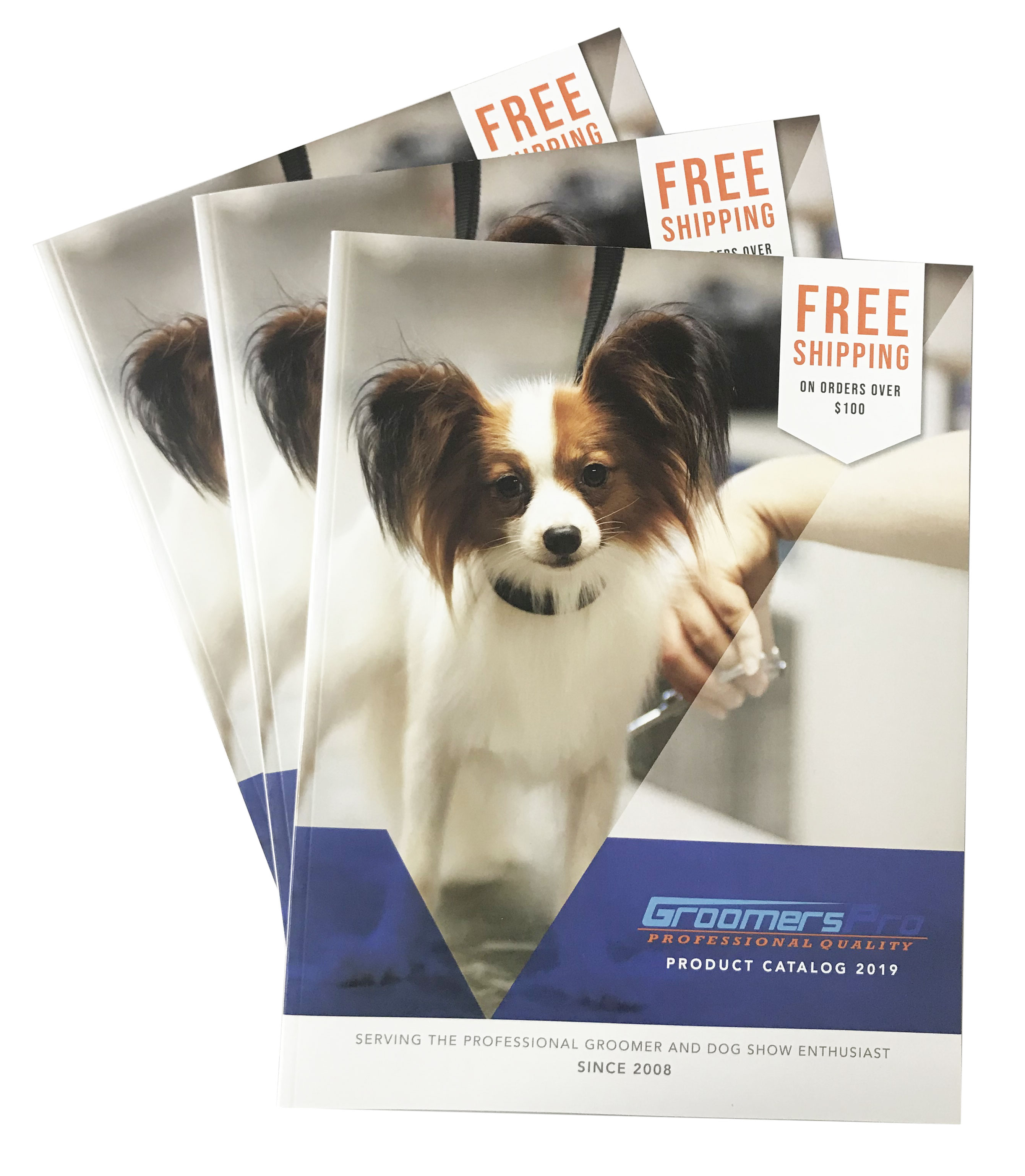 Request a Groomers Pro catalog
