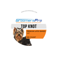 Groomers Pro Latex Bands for Top Knots