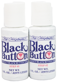 Chris Christensen Black Button - 2 Set
