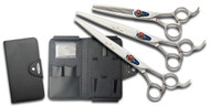 Kenchii Five Star Series Offset 3 Piece Set Shears