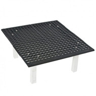 "Groomers Best Raised Floor Grate 24"" x 24"" x 11"""