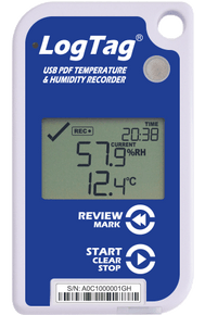 LogTag UHADO-16 Temperature & Humidity Logger with Display