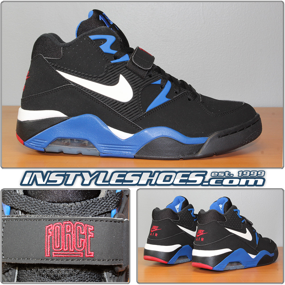 sneakers for cheap 8fd2c a90d3 Air Force 180 Black Royal 310095-011