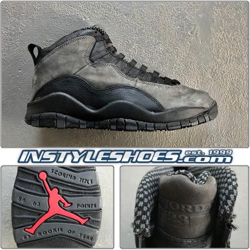 Air Jordan 10 OG Shadow Grey 130209-001