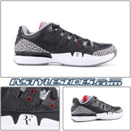 Zoom Vapor AJ3 Black Cement 709998-010