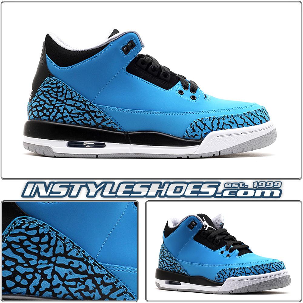 Air Jordan 3 GS Powder Blue 398614-406 a4ed54f3646e
