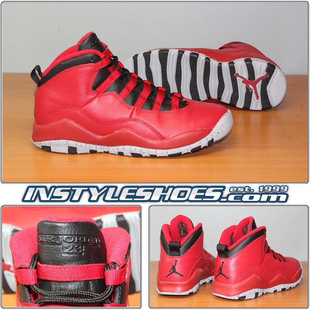 best cheap 52556 cee90 Air Jordan 10 GS Bulls Over Broadway 705179-601