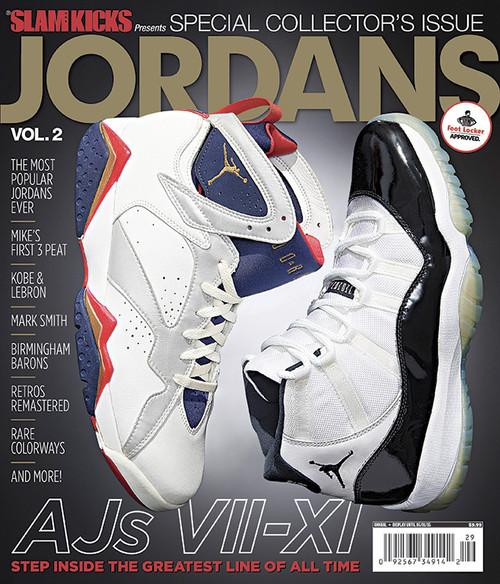 SLAM Kicks Presents Special Collectors Issue: Jordans Vol 2