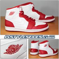 Air Jordan 1 High White Varsity Red 332550-100