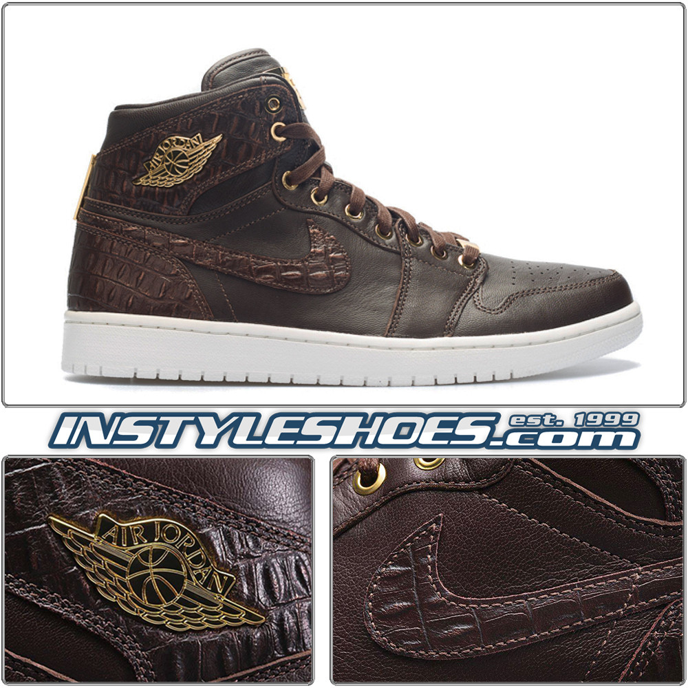 b1606fbe3ecd Air Jordan I PINNACLE 705075-205 Brown Leather. Image 2. All items on  InstyleShoes.com are Guaranteed Authentic. For shipping timeframe  Please  see the ...